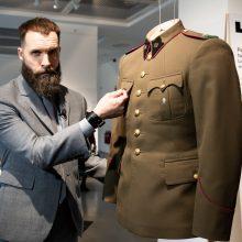 Atiduoda pagarbą Lietuvos partizanams: atkurta autentiška jų uniforma