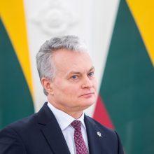 Prezidentūra paaiškino, kodėl G. Nausėda neatvyko į konferencijos atidarymą