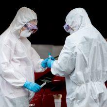 Plečia viruso tyrimus: galės būti tiriami visi, kam pasireiškia simptomai