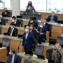 Prieš pavasario sesijos pabaigą Seimas didina darbų tempą