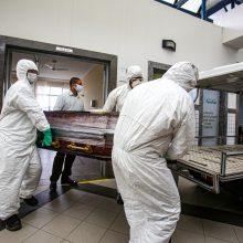 Brazilijoje nuo COVID-19 jau mirė 50 tūkst. žmonių