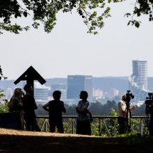 Patiks ne tik bėgikams: pristatė šimto kilometrų maršrutą aplink sostinę