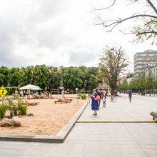 Vyriausybė su Vilniaus savivaldybe pradėjo derybas dėl Lukiškių aikštės
