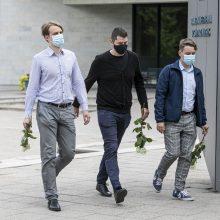 Į paskutinę kelionę išlydimas žurnalistas A. Katkevičius