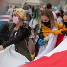 Į Lietuvą dėl humanitarinių priežasčių atvykti leista 805 baltarusiams
