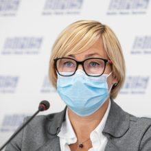 Ministrė: epidemiologinei situacijai leidus, į mokyklas pirmieji grįžtų pradinukai ir abiturientai