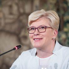 I. Šimonytė su Švedijos premjeru aptarė energetinį saugumą