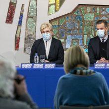 Konservatoriai derybas dėl postų pradės netrukus: ieškosime geriausio rezultato