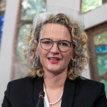 Ekonomikos ministrė su Registrų centro vadovu aptars duomenų atvėrimą