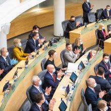 Seime bus rengiama plati diskusija dėl Kinijos, uigūrų padėties