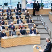 G. Nausėda: nuotolinis darbas nėra yda, jį taikyti gali ir Seimas