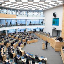 Prezidentūra: Seimas turi rasti būdų, kaip per pandemiją dirbti sklandžiai