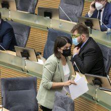 A. Sysas apie balsavimą dėl I. Šimonytės: čia ne vaikų darželis