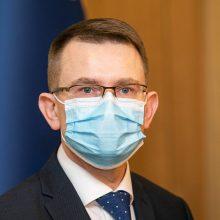 A. Dulkio koronaviruso testas – neigiamas