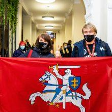 Į Lietuvą grįžęs B. Vanagas išreiškė didžiausią norą dėl jubiliejinio Dakaro