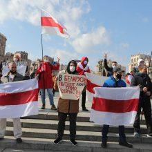 Baltijos šalių parlamentų komitetai deklaravo solidarumą su Baltarusijos žmonėmis