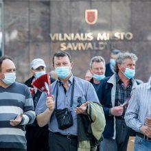 Dėl teismo sprendimo lapkričio 8-ąją vairuotojų streiko Vilniuje nebus