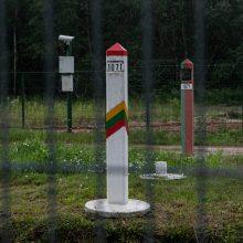 Lietuva įteikė notą Baltarusijai dėl pasikartojančių sienos pažeidimo atvejų