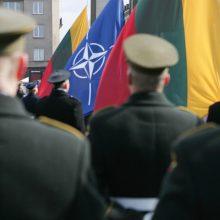 Prezidentūra: kalbos apie NATO smegenų mirtį yra gerokai per ankstyvos