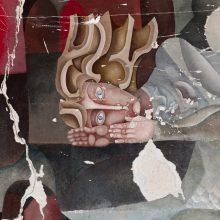 Menininkai suka galvas dėl Valkininkų freskos išsaugojimo