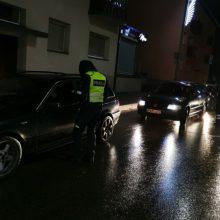 Kaune per reidą įkliuvo 17-metis be teisės vairuoti: gavo jau devintą baudą