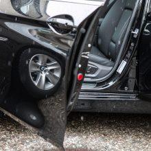 Sostinėje apvogtas ir apgadintas automobilis, nuostolis – tūkstantinis