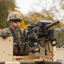 Į Lietuvą atvyksta nauja JAV karių rotacija su tankais ir šarvuočiais