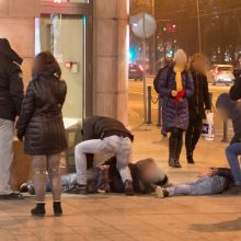 Šalia naktinio baro – grasinimai susidoroti