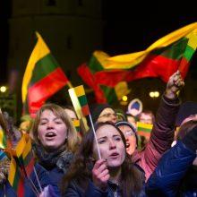 Lietuva pradeda minėti gimtadienį – Valstybės atkūrimo 102-ąsias metines