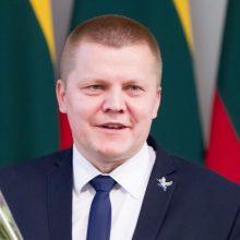 "Seimo NSGK pirmininkaus ""valstietis"" D. Gaižauskas"