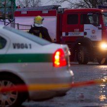 Lėkė ugniagesiai: Vilniuje užsidegė gyvenamasis namas