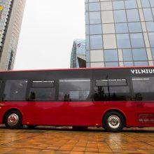 Rudenį į Vilniaus gatves išriedės 10 naujų mažų autobusų