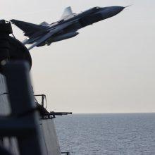 Virš Baltijos jūros zujo Rusijos karo lėktuvai
