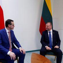 S. Skvernelis: Lietuvai ir Lenkijai pavyko grąžinti santykius į aukštą lygį