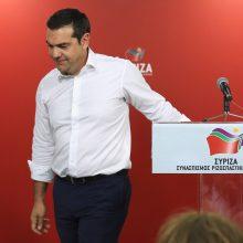 Graikijos premjeras žada šaukti pirmalaikius parlamento rinkimus