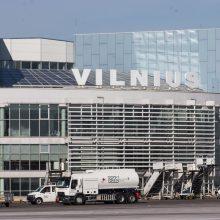 Vilniaus oro uoste ketvirtadienį – nė vieno keleivinio orlaivio