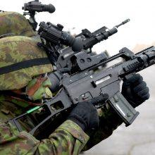 Apšaudytoje bazėje Irake tarnavę lietuviai perkelti į Kuveitą
