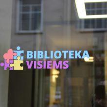 Bibliotekos atsiveria lankytojams, turintiems autizmo sutrikimų