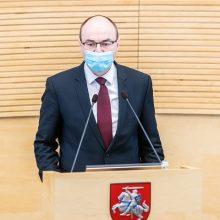 M. Gelbūda paskirtas naujuoju Seimo kancleriu