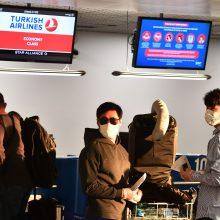 Lietuviai specialiais skrydžiais grįžta iš Dublino, Balio, Stambulo, Oslo