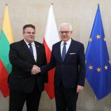 L. Linkevičius: Lietuvą su Lenkija sieja ne tik bendra praeitis, bet ir ateitis