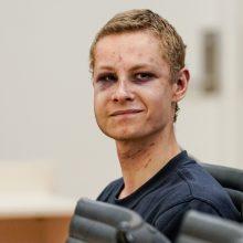 Įtariamas Norvegijos mečetės šaulys prisipažino padaręs nusikaltimus