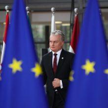 G. Nausėda Briuselyje pradeda derybas dėl būsimo ES biudžeto