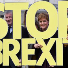 """Apklausa: jei """"Brexitas"""" įvyks, škotai balsuotų už nepriklausomybę"""