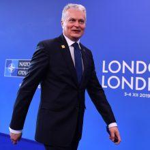 G. Nausėda liūdi dėl Britanijos pasitraukimo iš ES