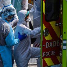 Nuo trečiadienio viruso aukų skaičius JAV padvigubėjo, mirė kūdikis