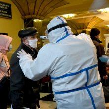 Rusijoje per parą koronaviruso epidemijos aukų padvigubėjo