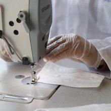 Lietuva skyrė paramą veido kaukių gamybai Butane