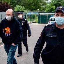 Rusijoje po 10 parų arešto į laisvę paleistas žurnalistas I. Azaras
