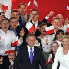 Punsko lietuviai iš prezidentu perrinkto A. Dudos tikisi proeuropietiškumo